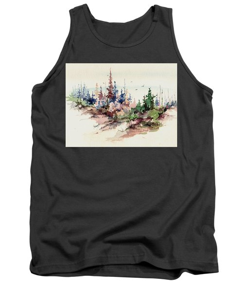 Wilderness Tank Top by Sam Sidders
