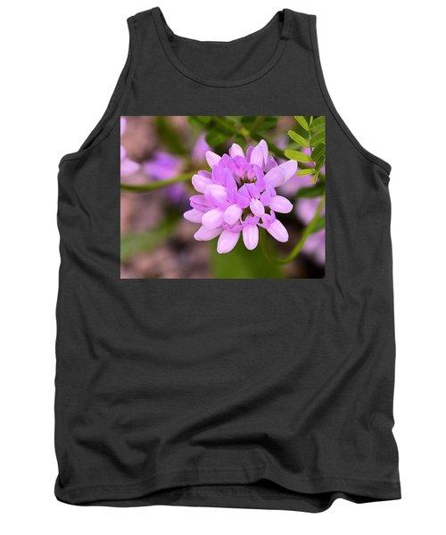 Wildflower Or Weed Tank Top by Kathy Eickenberg