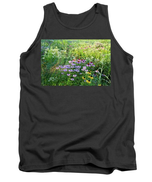 Wildflowers In Moraine Hills State Park Tank Top
