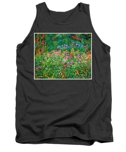 Wildflowers Near Fancy Gap Tank Top