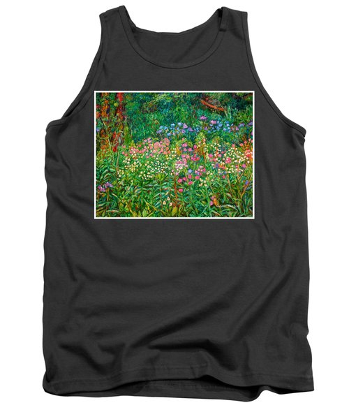 Wildflowers Near Fancy Gap Tank Top