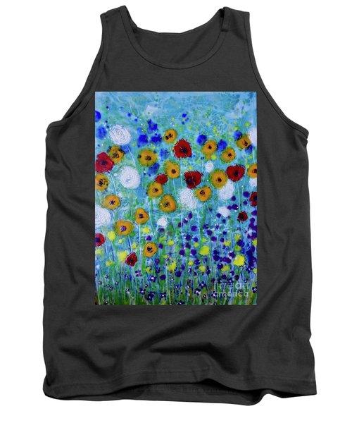 Wildflowers Never Die Tank Top