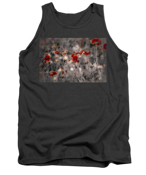 Wildflowers Of The Dunes Tank Top