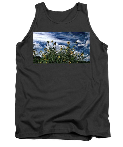 Wildflowers On The Brazos Tank Top