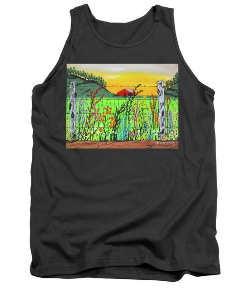 Wildflowers On The Farm Tank Top