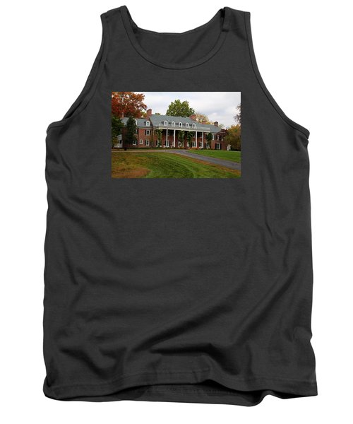 Wildwood Manor House In The Fall Tank Top