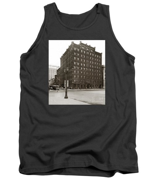 Wilkes Barre Pa Hollenback Coal Exchange Building Corner Of Market And River Sts April 1937 Tank Top