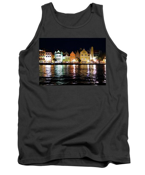Tank Top featuring the photograph Willemstad, Island Of Curacoa by Kurt Van Wagner