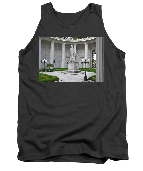 Tank Top featuring the photograph William Mckinley Memorial 004 by George Bostian