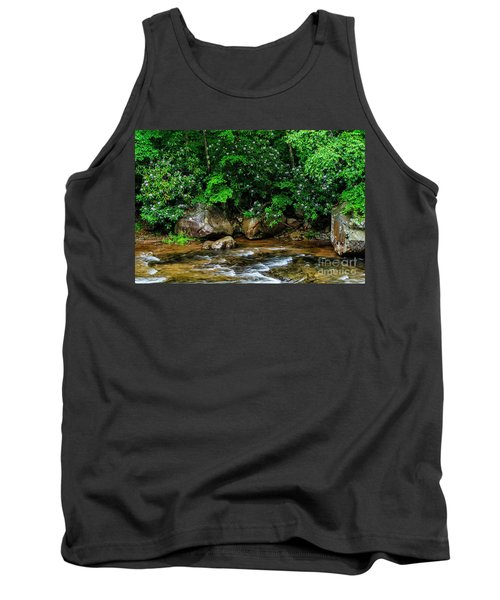 Williams River And Rhododdendron Tank Top
