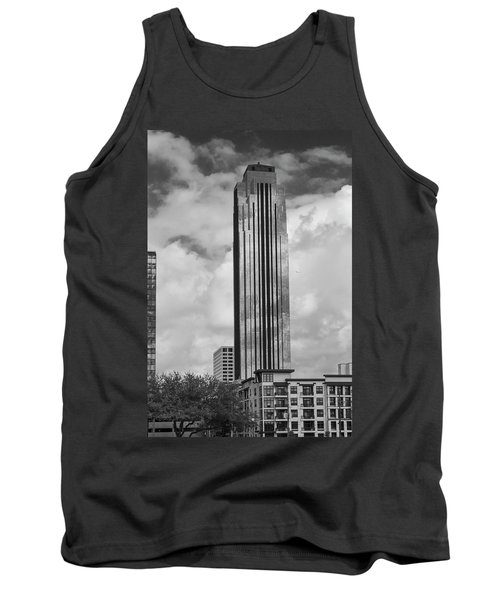 Williams Tower In Black And White Tank Top