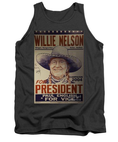 Willie For President Tank Top