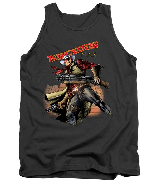 Winchester Man Transparent  Tank Top