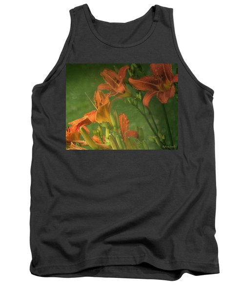 Wind Blown And Rain Spattered Tank Top