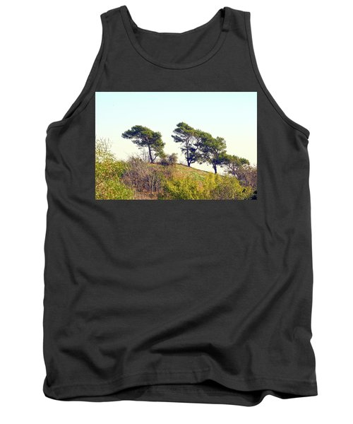 Wind Blown Trees Tank Top