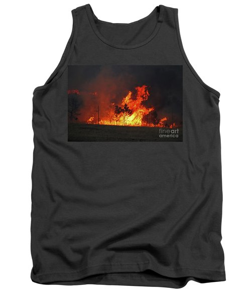 Wildfire Flames Tank Top