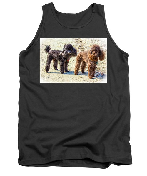 Windblown Beach Bums Tank Top