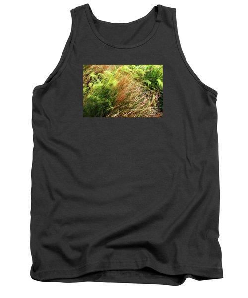 Windblown Grasses Tank Top