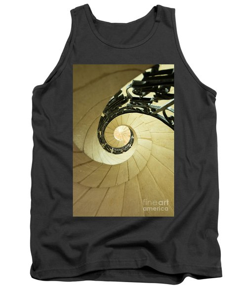 Winding Staircase. France. Europe. Tank Top
