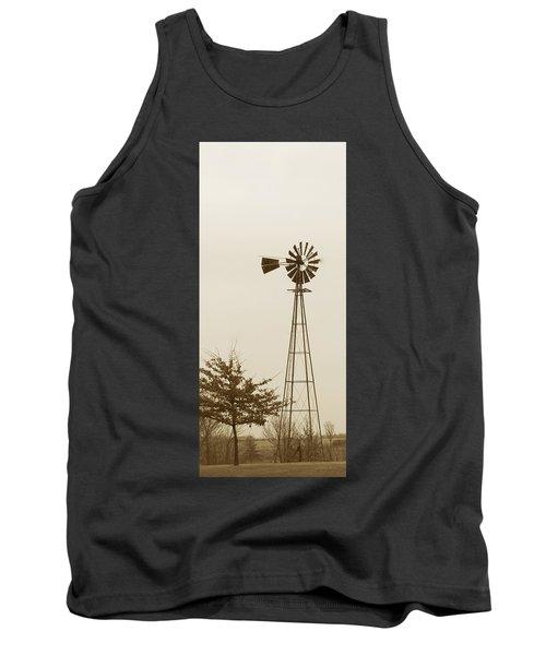 Windmill #1 Tank Top by Susan Crossman Buscho