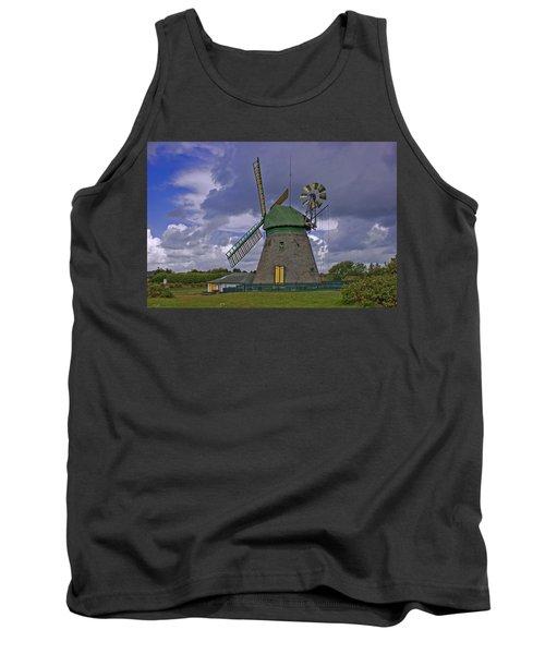 Windmill Amrum Germany Tank Top