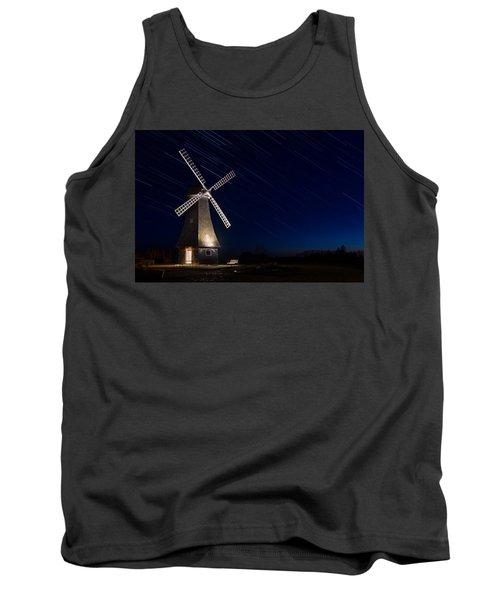 Windmill In The Night Tank Top
