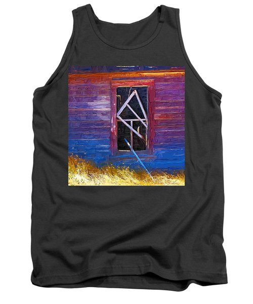 Tank Top featuring the photograph Window-1 by Susan Kinney