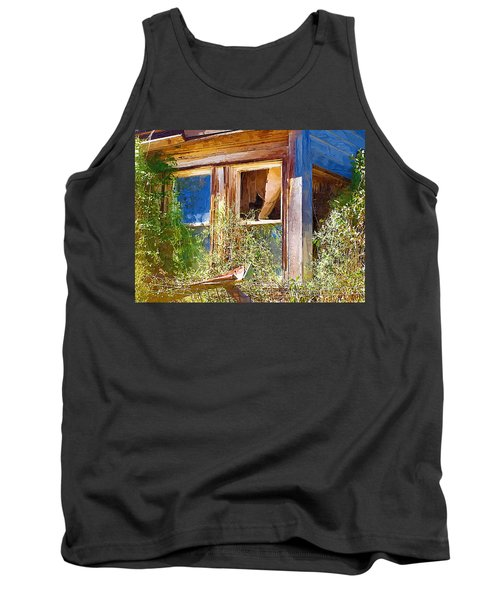Tank Top featuring the photograph Window 2 by Susan Kinney