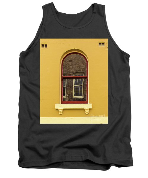 Tank Top featuring the photograph Window And Window 2 by Perry Webster