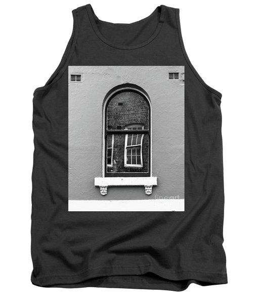 Tank Top featuring the photograph Window And Window by Perry Webster