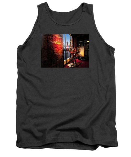 Tank Top featuring the photograph Window Art by Steve Siri