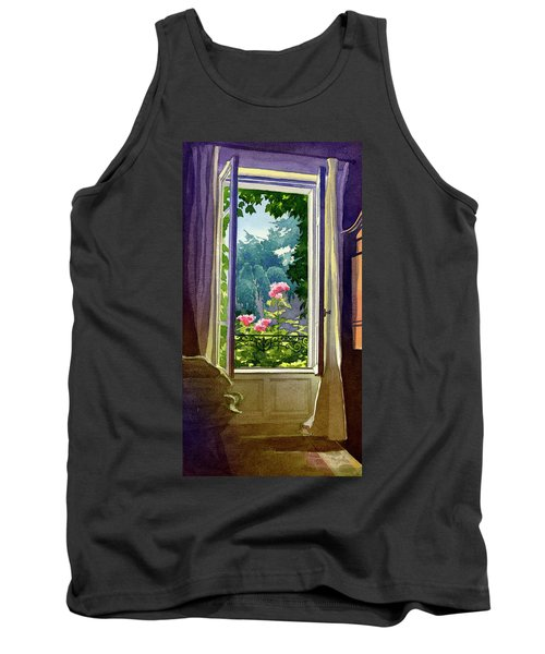 Window At Clermont Tank Top