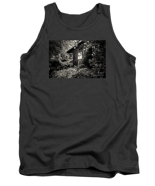 Tank Top featuring the photograph Window In The Woods by Randall  Cogle