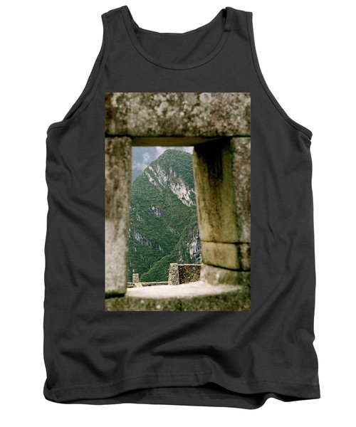 Window To The Gifts Of The Pachamama Tank Top