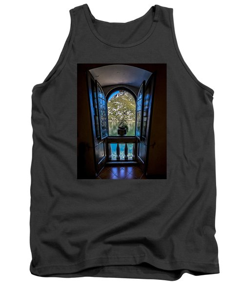 Window To The Lake Tank Top