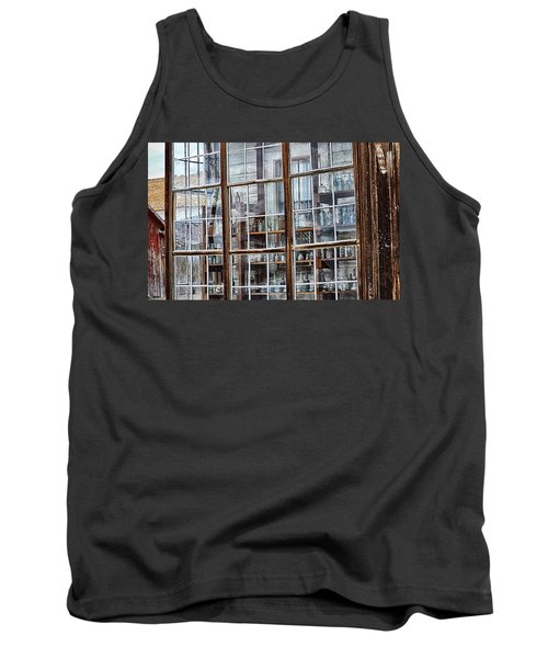 Window To The Past Tank Top by AJ Schibig