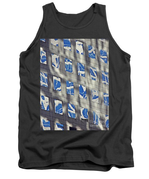 Tank Top featuring the photograph Windows Of 2 World Financial Center 3 by Sarah Loft