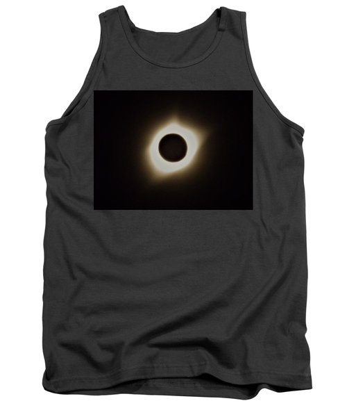 Windy Corona During Eclipse Tank Top