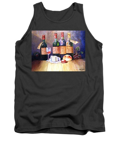 Wine And Cheese Tank Top