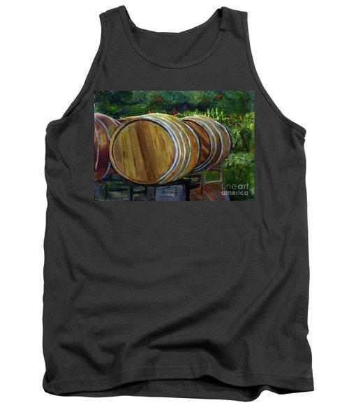 Wine Barrels Tank Top