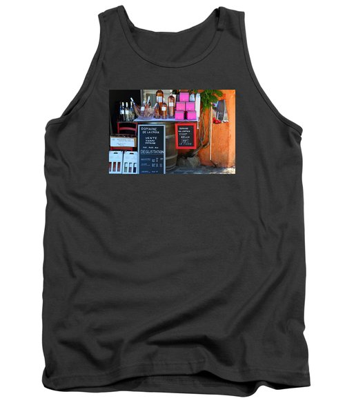 Tank Top featuring the photograph Wine Cellar by Richard Patmore