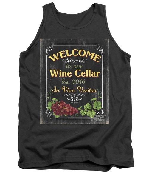 Wine Cellar Sign 1 Tank Top