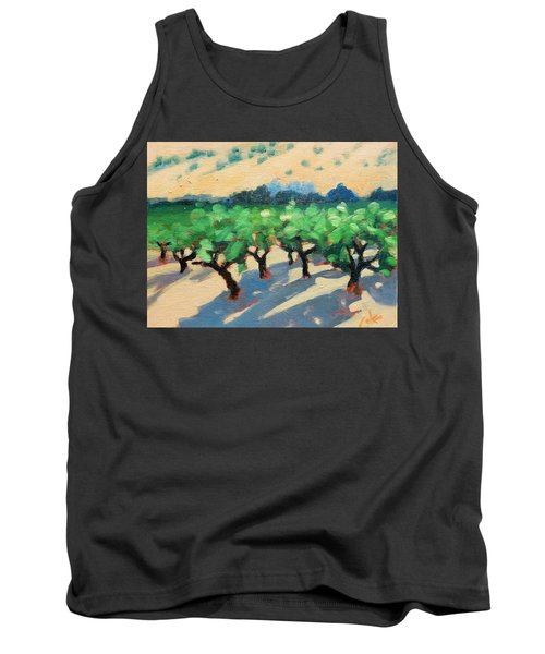 Tank Top featuring the painting Wine Habitat by Gary Coleman
