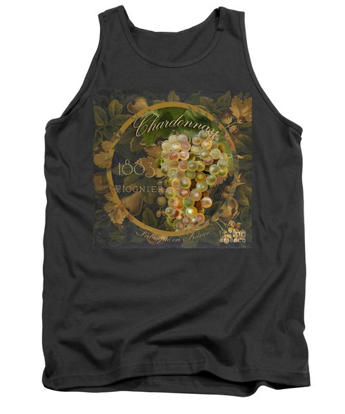 Wines Of France Chardonnay Tank Top