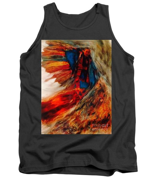 Winged Ones Tank Top by FeatherStone Studio Julie A Miller