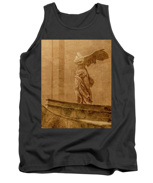Paris, France - Louvre - Winged Victory Tank Top