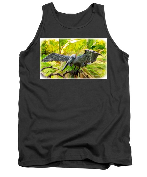 Winging It  Tank Top by Judy Kay