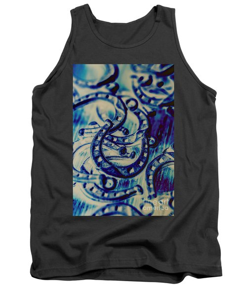 Winning Blue Country Tokens Tank Top