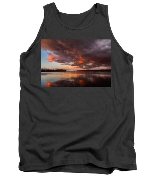 Winnisquam Sunset Tank Top
