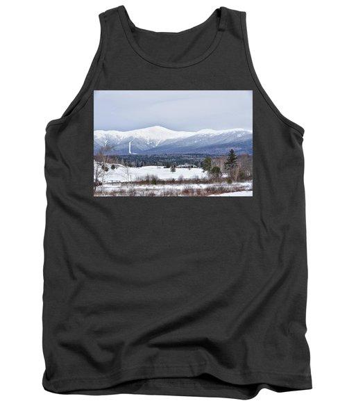Winter At Mount Washington Tank Top